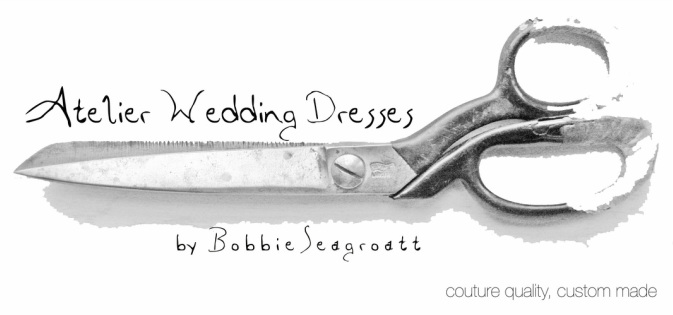 Ateleir bespoke couture wedding dresses designed by Bobbie Seagroat